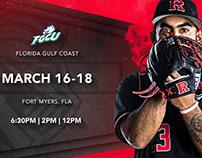 Rutgers Baseball 2018 Game Knight Promo