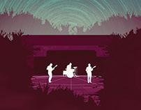 Edgemere: Under the Stars (November Poster)