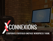Connexions - Corporate OnePage WordPress Theme
