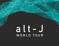 alt-J Kinetic Type Video