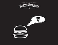 PAPER TABLE COVER - Baixa Burguer & Pizza do Baixa
