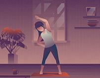Yoga Illustration 02
