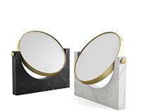 3d model: Pepe Marble Mirror by Menu