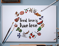 Food love is True Love