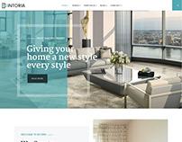 Intoria - Interior & Architecture Joomla Template
