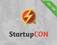 StartupCON 2014 - Interface design