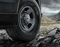 Dunlop Tire illustrations