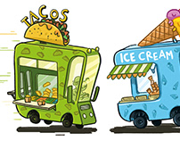 Food Trucks / Leveled Book