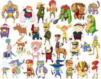 30 Character Designs
