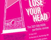 Portfolio Review Poster.