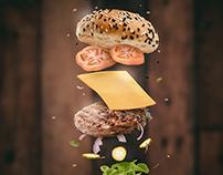 Hambúrguer - Manipulação