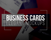 Business Cards - 5 Elegant Mockups