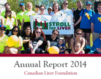Annual Report 2014 | Canadian Liver Foundation
