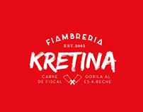 Fiambrería Kretina | Branding