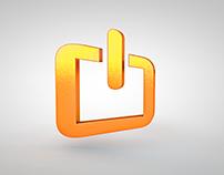 Rede Primetek (animações 2D e selo 3D)