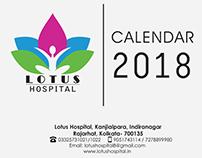 Lotus Hospital- Calendar 2018