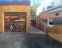 Athens Bread Company Mural Video