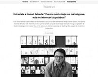 Web design cultural paper magazine