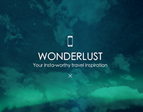 Wonderlust - Mobile App UX Design