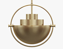 Multi-Lite pendant lamp by LOUIS WEISDORF