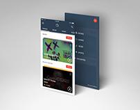#DailyUi 025 - TV App
