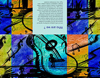 Brochures for a Music Therapy institution