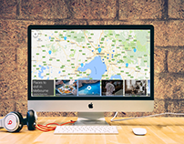 MapMe Desktop Redesign