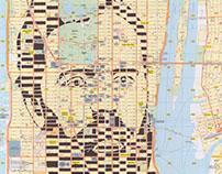 Human Cartography: Herman Melville / New York