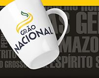 Identidade Visual Café Grão Nacional