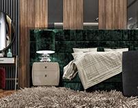 Contemporary bedroom | Qatar