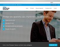 Website Vivo Proteção Celular