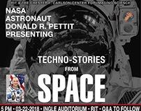 Astronaut Donald Pettit: RIT Event Poster: 2018