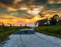 Plash Island Sunset