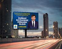 Korkuteli Belediyesi / Kurban Bayramı Billboard