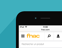 Fnac - site mobile