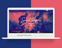 Band Master Website Inspiration