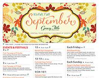September Monthly Calendar of Events