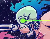 大力Halloween Human skeleton