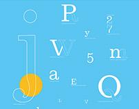 Belizio Font Study + Posters