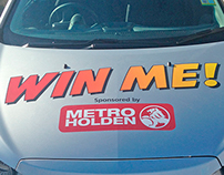 Metro Holden - Golf Day - Hole-In-One Livery