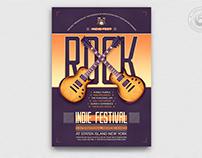 Indie Fest Flyer Template V8