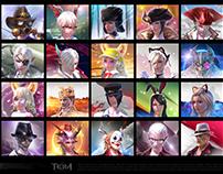Tera- Icons