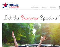 Web Design - Storage of America