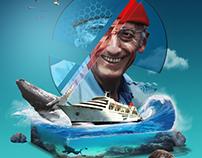 Hommage séries #1 Cousteau