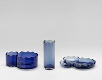 HAI- Bohemian glass container - Ars fabricandi