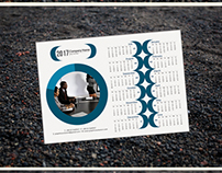 One Page Calendar Design