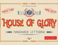 House of Glory 'FamilyFont'