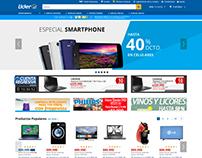 UX/UI eCommerce Walmart Chile - Sitio Tecnología