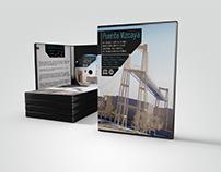 Diseño completo de DVD estuche Puente Vizcaya