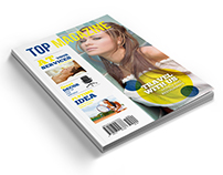 Top Magazine Template - 40 Pages